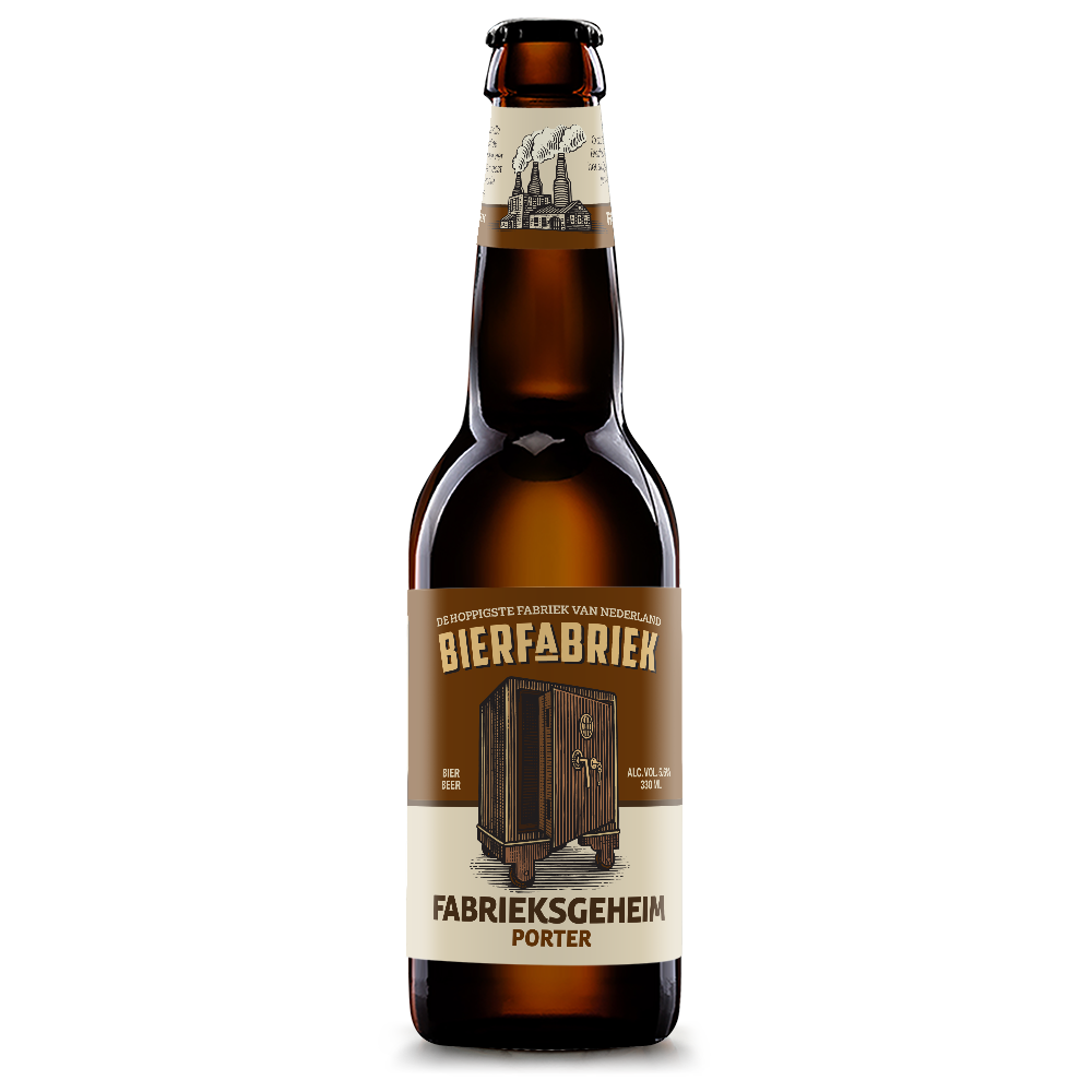Bierfabriek Fabrieksgeheim Porter 5,6%